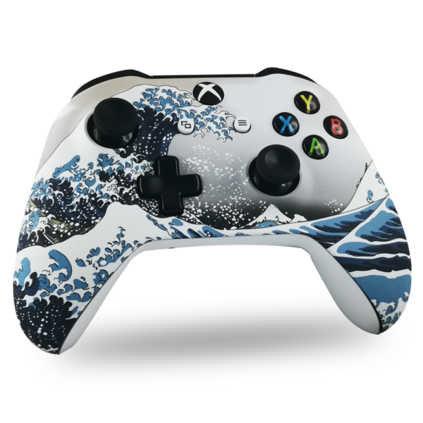 manette-XBOX-custom-S-personnalisee-drawmypad-la-grande-vague