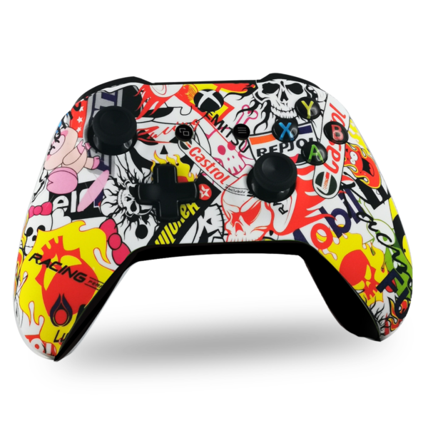 manette-XBOX-custom-X-personnalisee-drawmypad-riders-on-the-storm