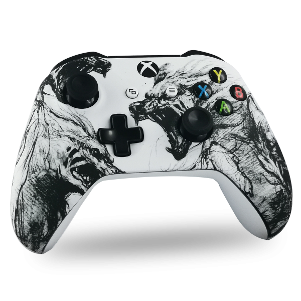 coque-XBOX-custom-X-personnalisee-drawmypad-wolves