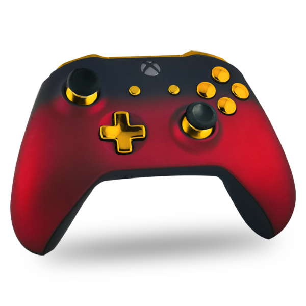 manette-XBOX-one-custom-S-personnalisee-drawmypad-red-gold