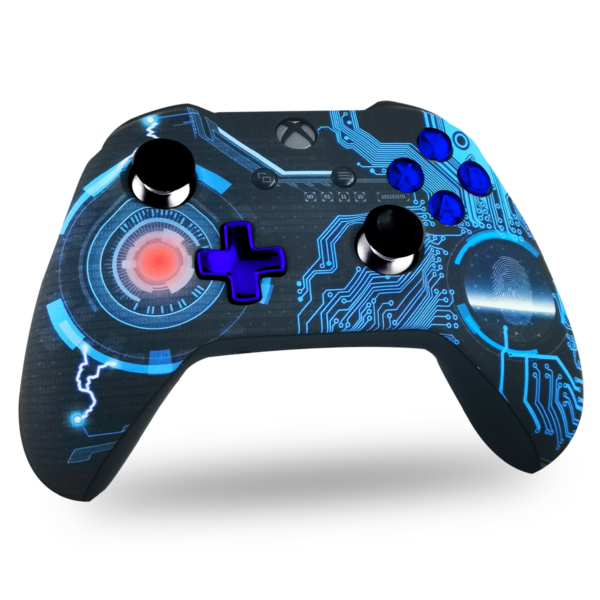 manette-XBOX-one-custom-S-personnalisee-drawmypad-technoloblue
