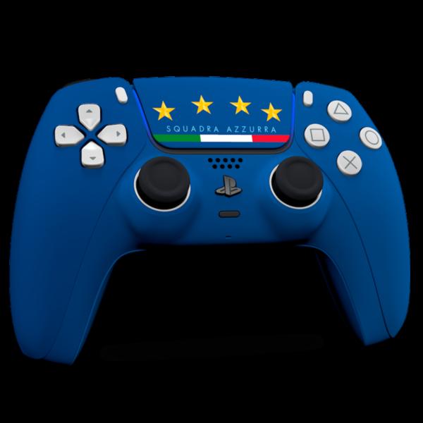manette-ps5-custom-football-italie-dualsense-personnalisee