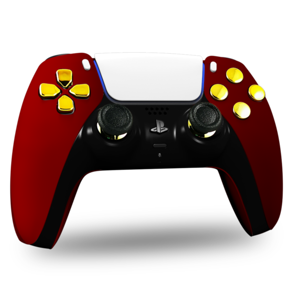 manette-ps5-sony-custom-playstation-personnalisee-red-gold