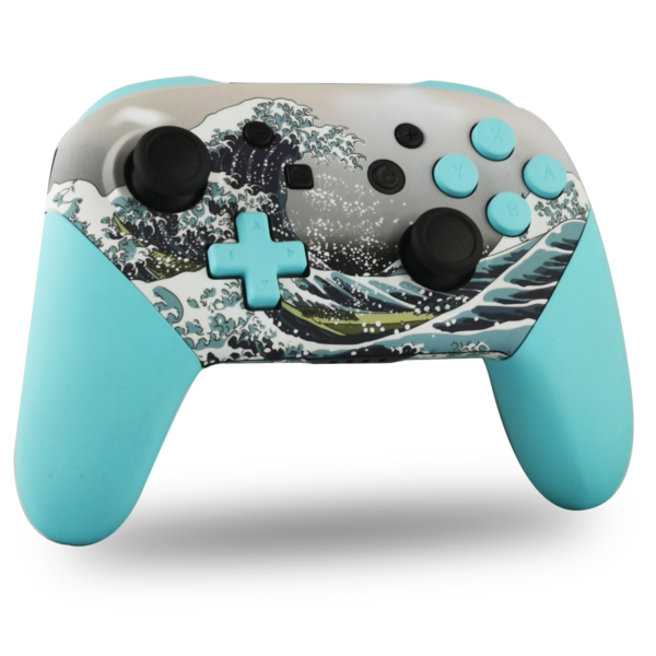 manette-switch-pro-custom-nintendo-personnalisee-drawmypad-grande-vague-kanagawa