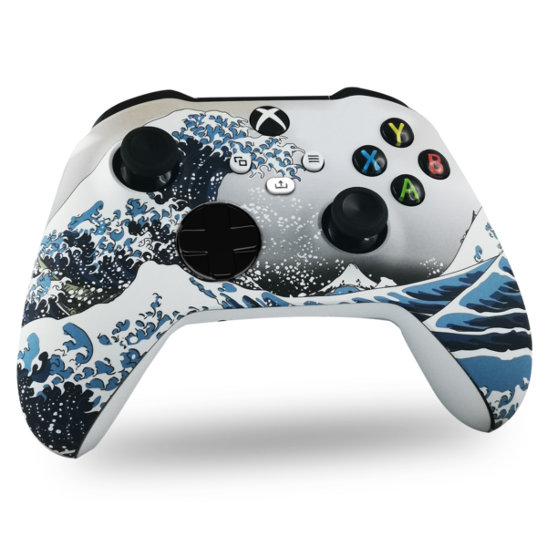 coque-xbox-series-s-custom-grande-vague-manette-personnalisee-xbox-series-x-draw-my-pad