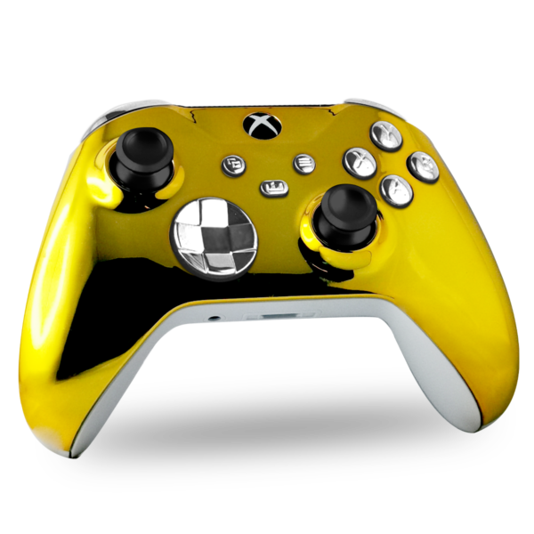 manette-xbox-series-x-custom-gold-and-sylver-manette-personnalisee-xbox-series-s-draw-my-pad