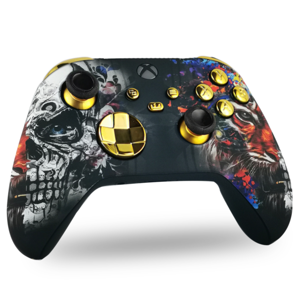 manette-xbox-series-x-custom-golden-tiger-manette-personnalisee-xbox-series-s-draw-my-pad