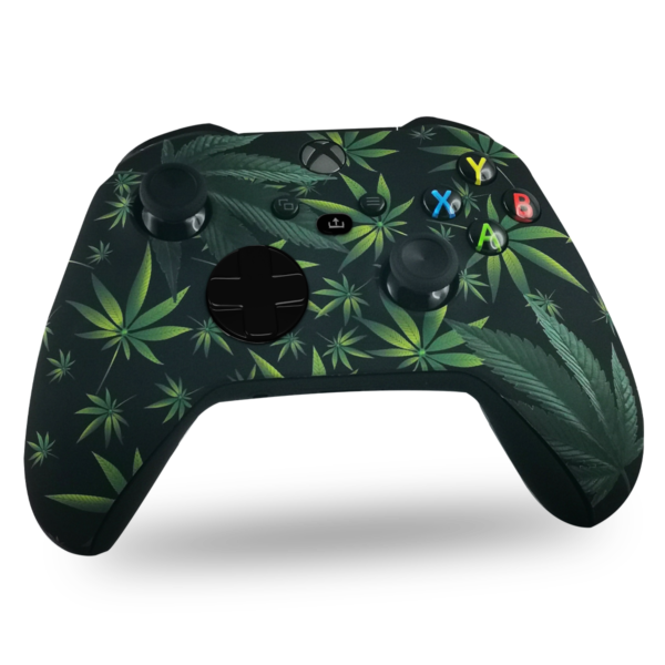 coque-xbox-series-x-custom-kanadian-leaves-manette-personnalisee-xbox-series-s-draw-my-pad