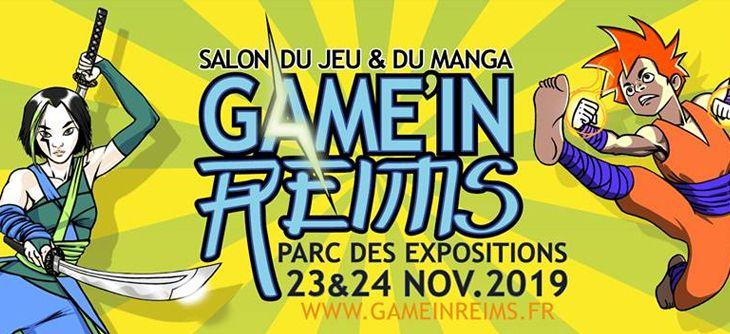 Affichage Game in Reims, avant dernier salon du jeu video pour retrouver nos manettes personnalisees avant noel game